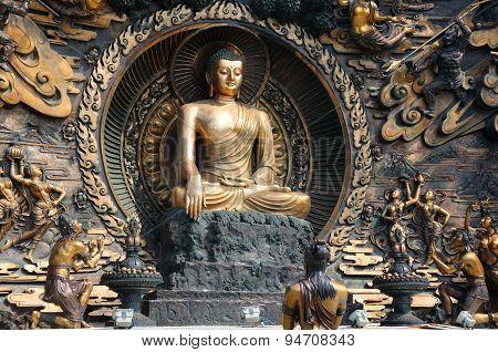 Buddha Statue at Lingshan Wuxi