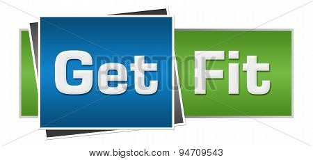 Get Fit Green Blue Horizontal