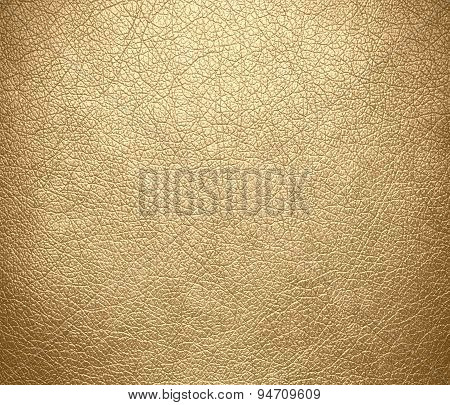 Deep champagne leather texture background