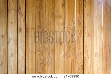Vertical Wooden Planks
