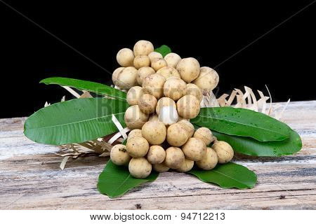 Lansium Demesticum Corr Fruit