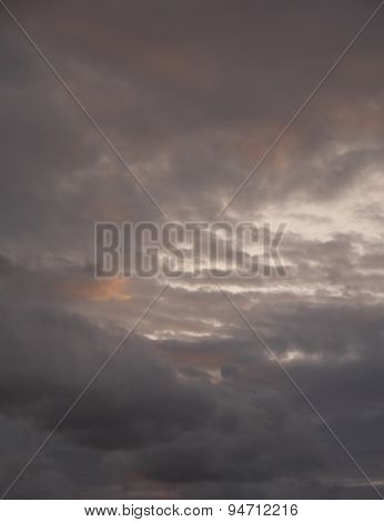 scenic cloudy sky natural background