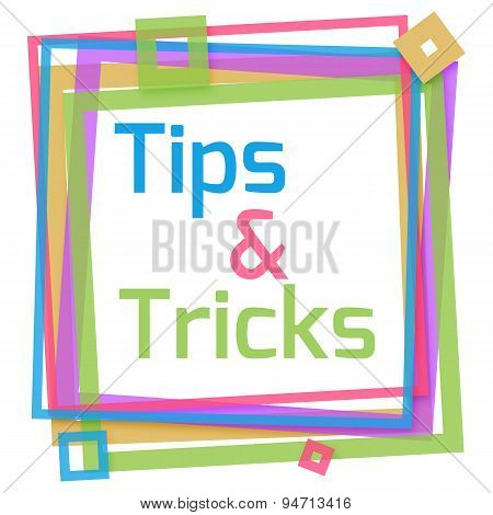 Tips And Tricks Colorful Frame