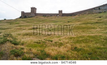 Toothed Fortress Wall