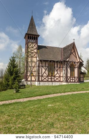 The church in Slovakia, Stary Smokovec.
