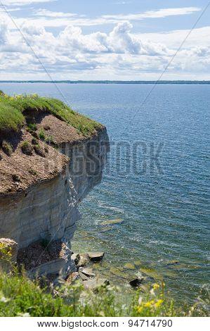 The Cliffs Of Paldiski And Baltic Sea, Estonia