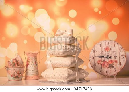 Beautiful White Cake
