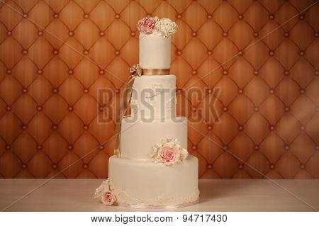 4Tier Marzipan Cake