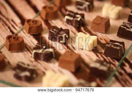 Mini Chocolate Sweets