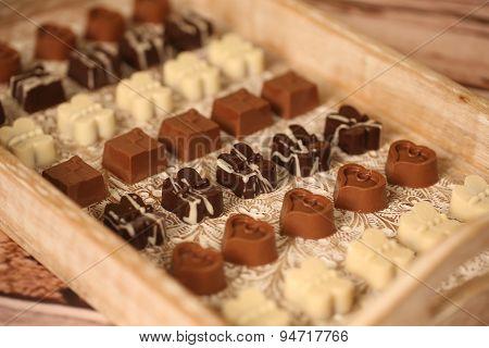 Assorted Mini Chocolate Sweets