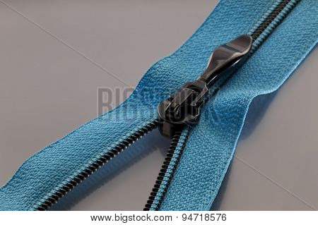 Blue Zipper