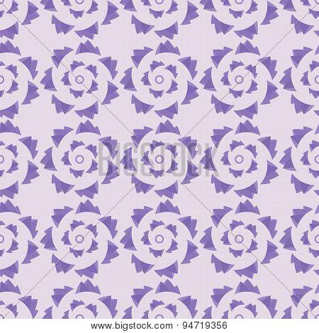 Geometric Seamless Ornament Lavender Palette