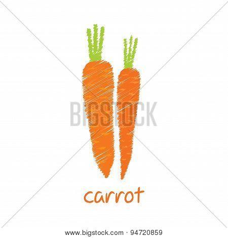 carrot vegetable design