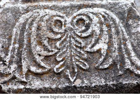 Ancient Column, Details,