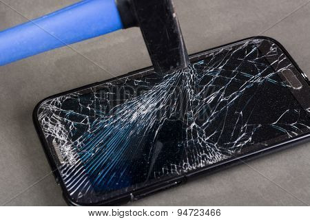 Damaged Smartphone