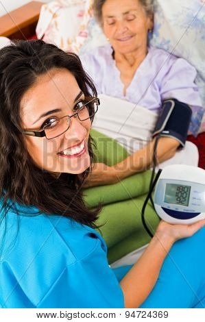 Measuring Blood Pressure With Digital Device