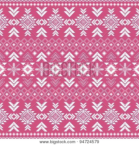 Tribal Ethnic Seamless Pattern .