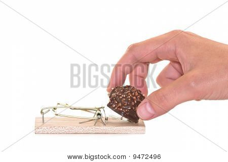 Mousetrap With Chocolate