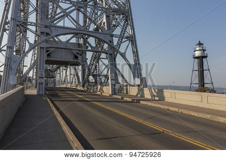 Road Across Lift Bridge