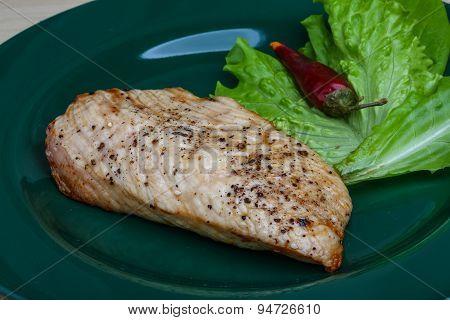 Grilled Turkey Steak