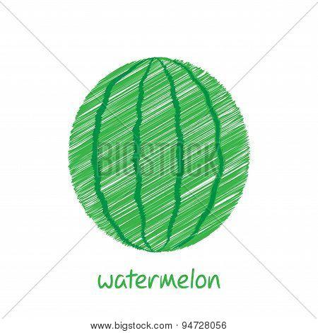 watermelon fruit design