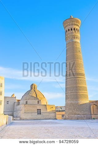 The Brick Minaret