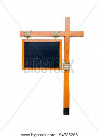 Board Menu Isolated on White Background