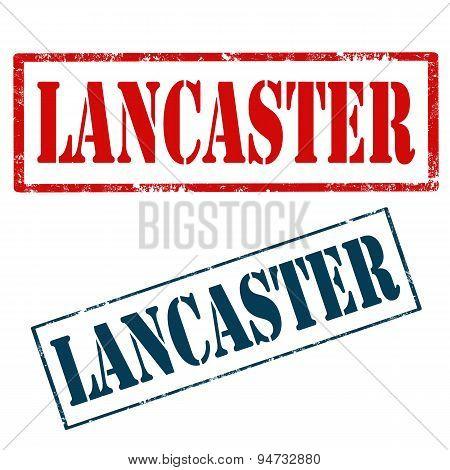 Lancaster-stamps