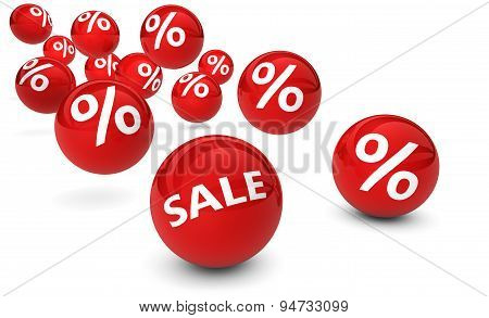 Shopping Sale Percent Discount Symbol