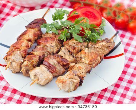 Delicious skewers - grilled skewers