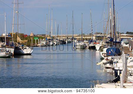 Sailboat Harbor