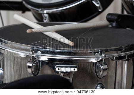 Drumsticks Closeup