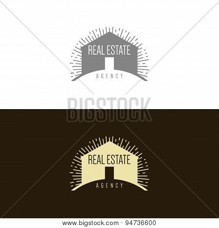 Logo inspiration for construction companies, real estate agencies or architectural companies.