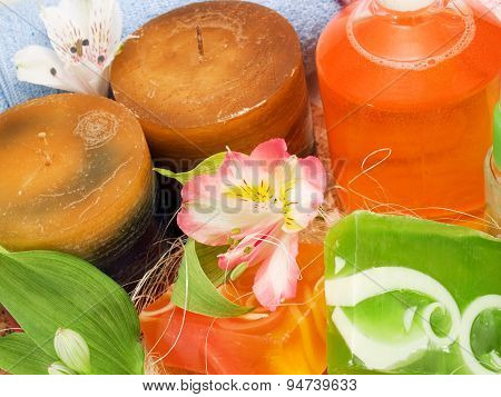 Candles And Aromatic Soaps