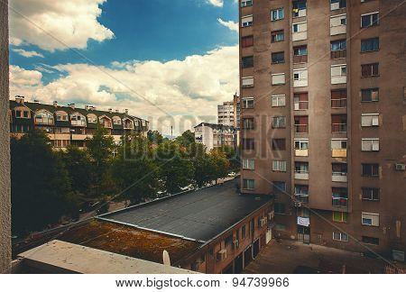 Balkan Town Nowadays