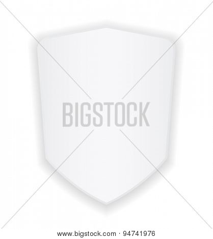 shield white badge - banner