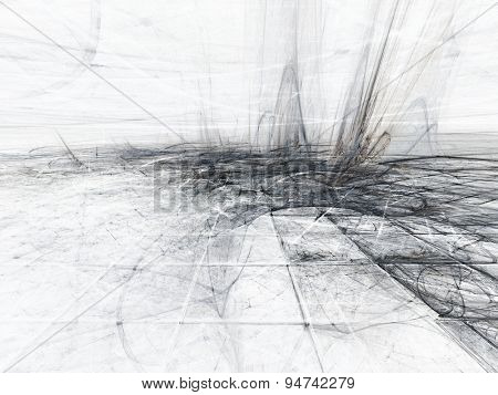 Abstract creepy background