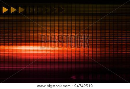 Abstract Futuristic Circuit Technology Background as Art background