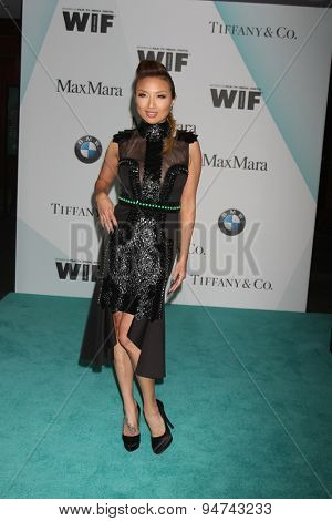 LOS ANGELES - JUN 16:  Jeannie Mai at the Women In Film 2015 Crystal + Lucy Awards at the Century Plaza Hotel on June 16, 2015 in Century City, CA