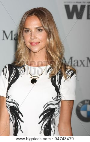 LOS ANGELES - JUN 16:  Arielle Kebbel at the Women In Film 2015 Crystal + Lucy Awards at the Century Plaza Hotel on June 16, 2015 in Century City, CA