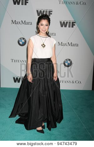 LOS ANGELES - JUN 16:  Ayako Fujitani at the Women In Film 2015 Crystal + Lucy Awards at the Century Plaza Hotel on June 16, 2015 in Century City, CA