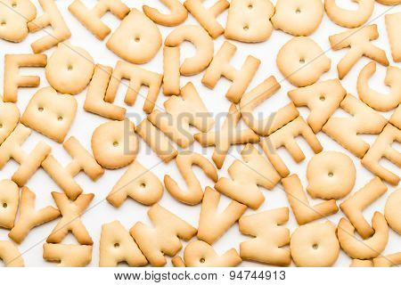 Group of letter cookie