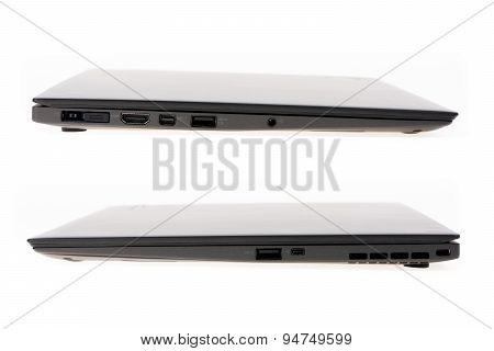 Black Laptop Isolate