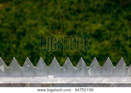 Steel boundary