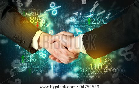 Handshake with number analysis
