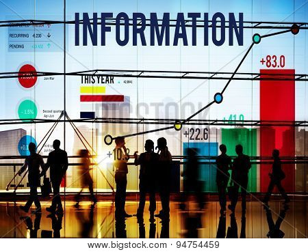 Information Facts Details Data Knowledge Concept