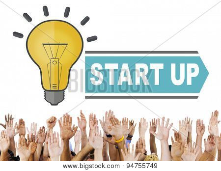Start Up Ideas Intelligence Concept