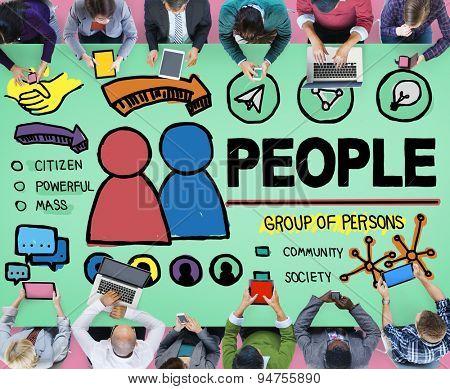 People Person Group Citizen Community Concept