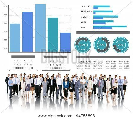 Diversity Business People Strategy Corporate Team Concept