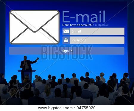 Email Online Messaging Social Media Internet Concept